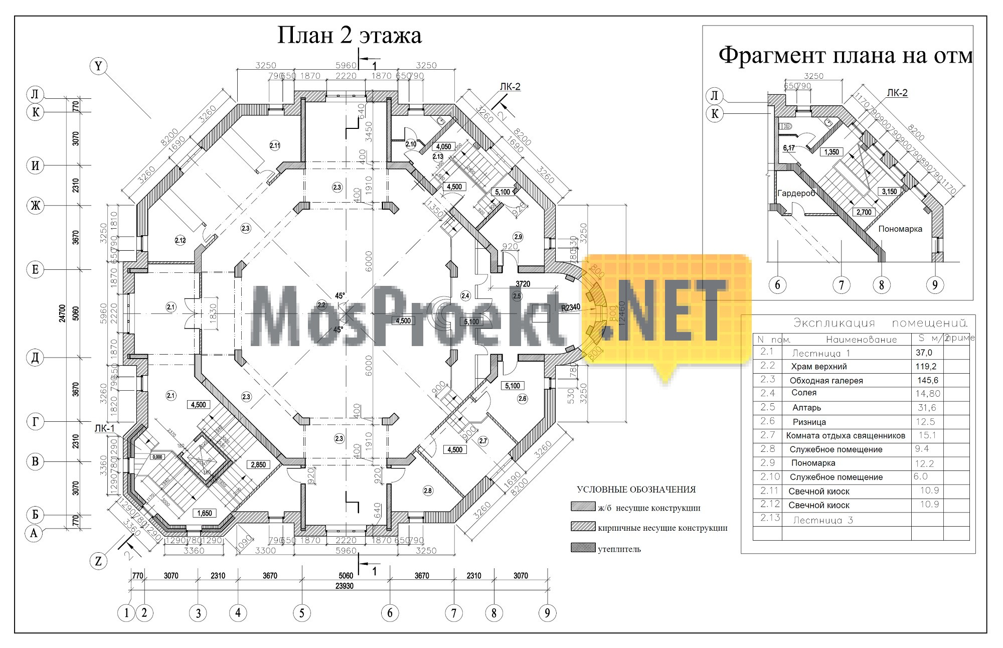 схема теплового узла здания 2 этажа