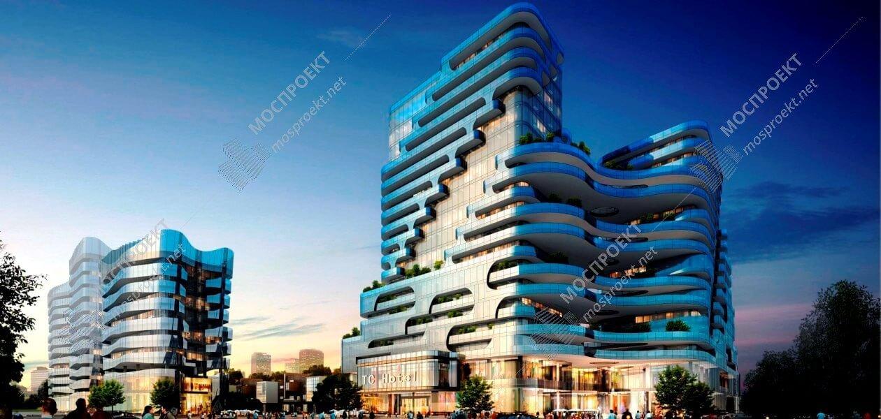Гостиничные комплексы, проектирование